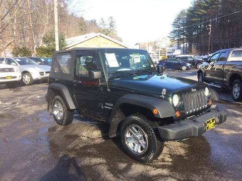 2010 Jeep Wrangler for sale in Belmont, NH