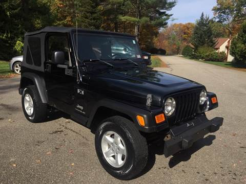 2006 Jeep Wrangler for sale in Belmont, NH