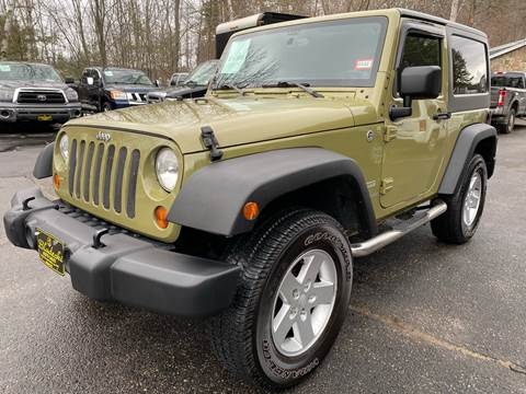 2013 Jeep Wrangler for sale at Bladecki Auto in Belmont NH