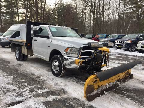 2015 RAM Ram Chassis 3500 for sale at Bladecki Auto in Belmont NH