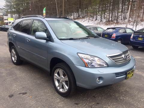 2008 Lexus RX 400h for sale at Bladecki Auto in Belmont NH