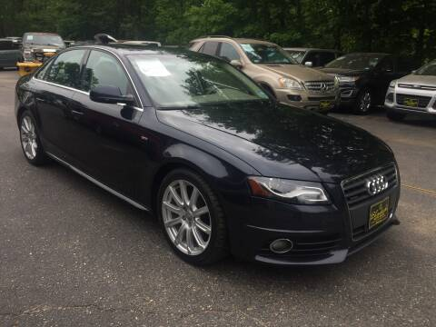 2012 Audi A4 for sale at Bladecki Auto in Belmont NH