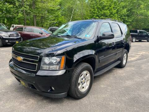 2013 Chevrolet Tahoe for sale at Bladecki Auto in Belmont NH