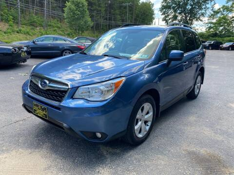 2015 Subaru Forester for sale at Bladecki Auto in Belmont NH