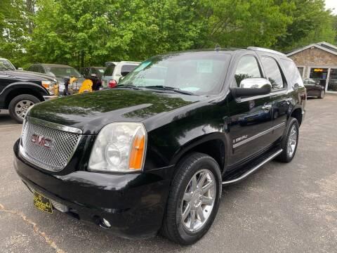2009 GMC Yukon for sale at Bladecki Auto in Belmont NH