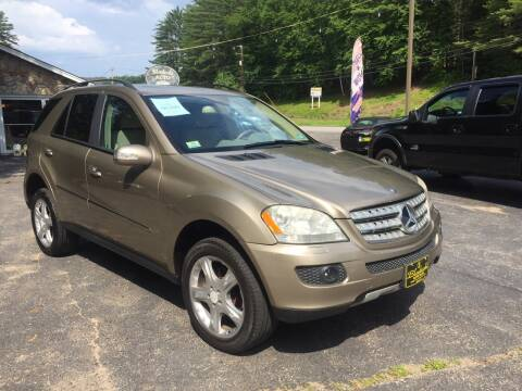 2008 Mercedes-Benz M-Class for sale at Bladecki Auto in Belmont NH