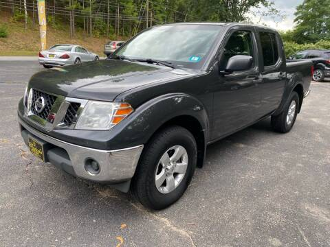 2010 Nissan Frontier for sale at Bladecki Auto in Belmont NH