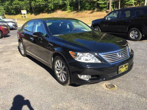 2010 Lexus LS 460 for sale at Bladecki Auto in Belmont NH