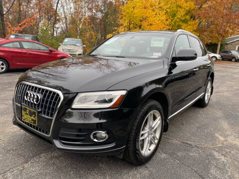 2015 Audi Q5 for sale at Bladecki Auto in Belmont NH