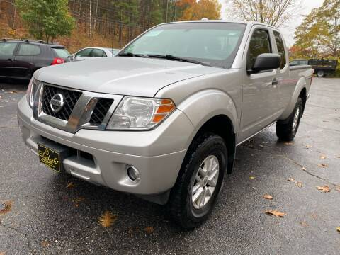 2014 Nissan Frontier for sale at Bladecki Auto in Belmont NH