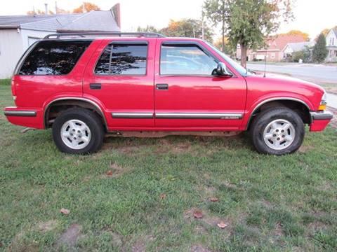 1998 Chevrolet Blazer for sale in Mattoon, IL