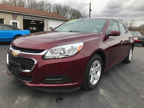 2015 Chevrolet Malibu for sale at Baker Auto Sales in Northumberland PA