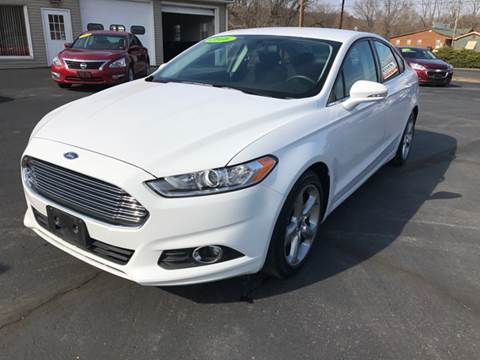 2016 Ford Fusion for sale at Baker Auto Sales in Northumberland PA