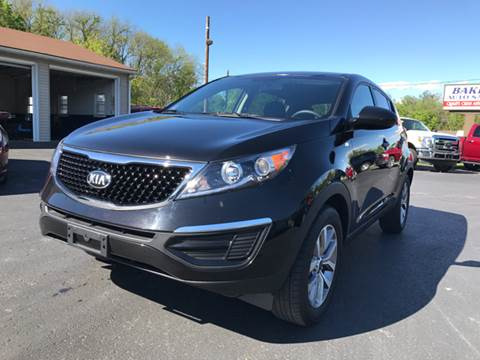 2016 Kia Sportage for sale at Baker Auto Sales in Northumberland PA