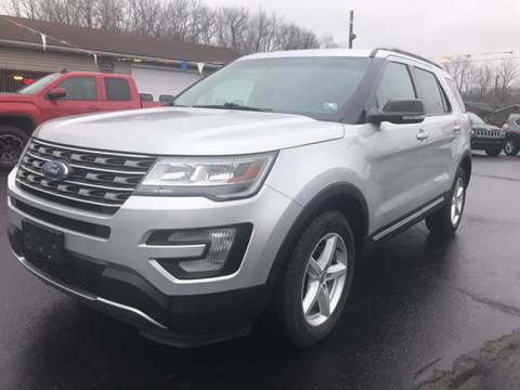 2016 Ford Explorer for sale at Baker Auto Sales in Northumberland PA