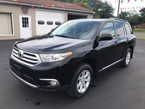 2011 Toyota Highlander for sale at Baker Auto Sales in Northumberland PA