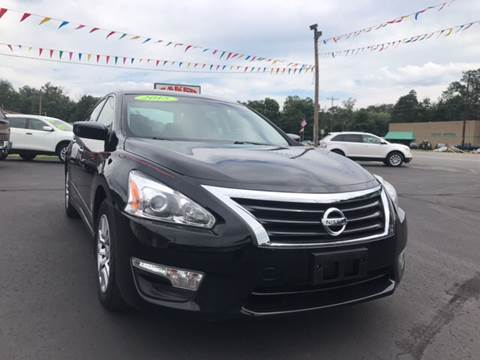 2015 Nissan Altima for sale at Baker Auto Sales in Northumberland PA