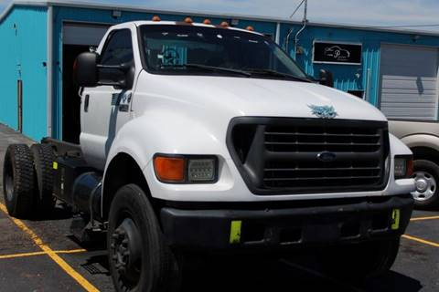 2002 Ford F-750 for sale in San Antonio, TX