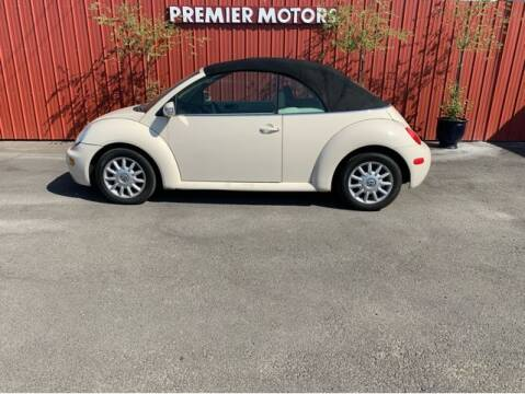 2005 Volkswagen New Beetle Convertible for sale at Premier Motors in Milton Freewater OR