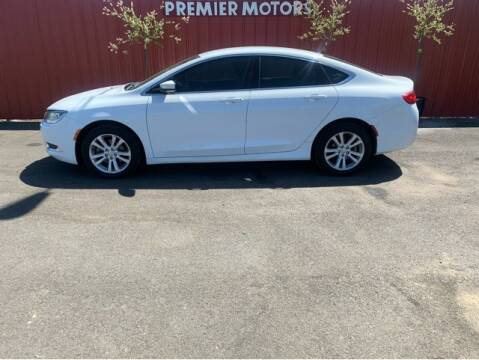 2015 Chrysler 200 for sale at Premier Motors in Milton Freewater OR