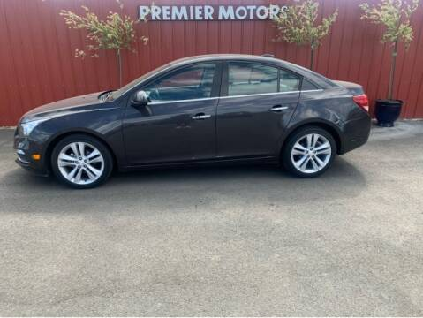 2016 Chevrolet Cruze Limited for sale at Premier Motors in Milton Freewater OR