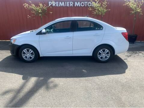 2014 Chevrolet Sonic for sale at Premier Motors in Milton Freewater OR