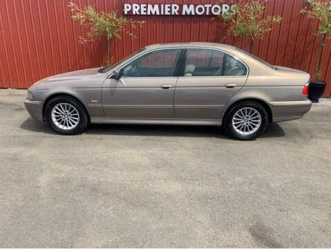 2003 BMW 5 Series for sale at Premier Motors in Milton Freewater OR