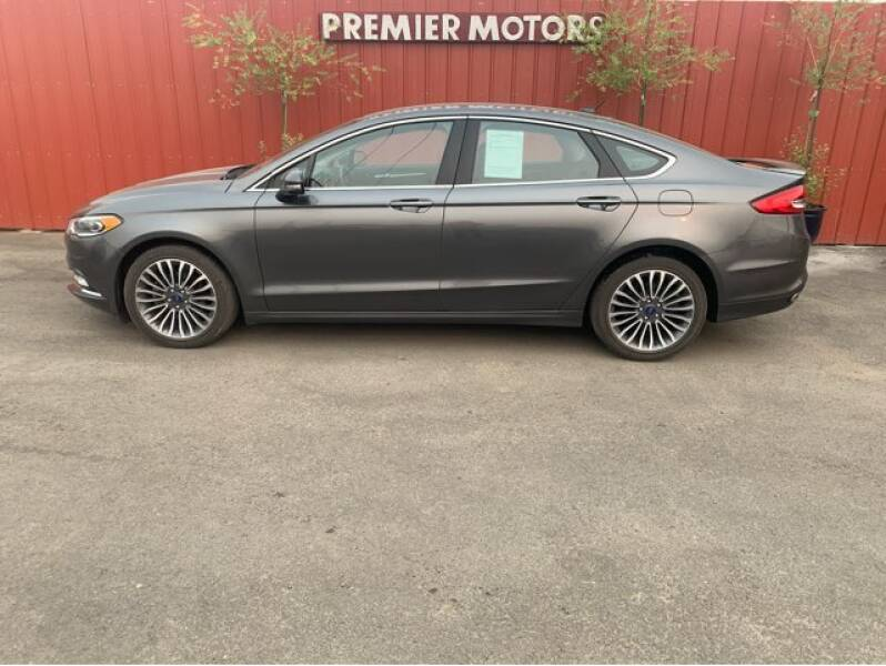 2017 Ford Fusion for sale at Premier Motors in Milton Freewater OR