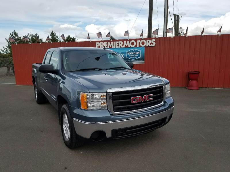 2010 GMC Sierra 1500 4x4 SLE 4dr Extended Cab 6.5 ft. SB - Milton-Freewater OR