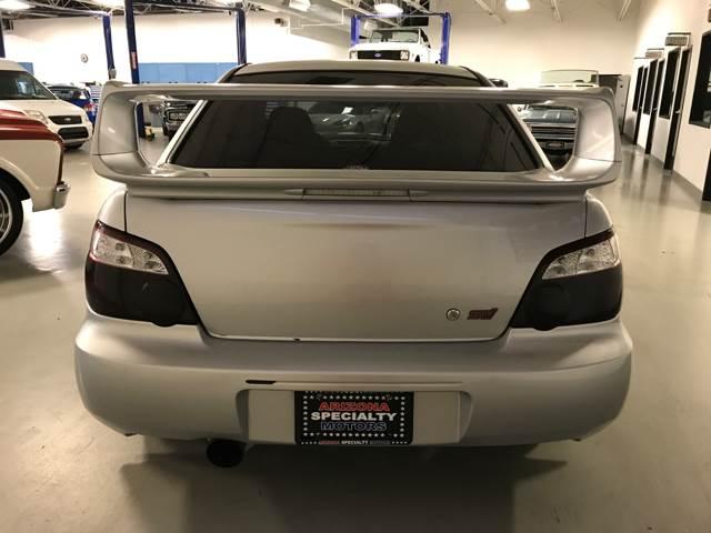 2004 Subaru Impreza for sale at Arizona Specialty Motors in Tempe AZ