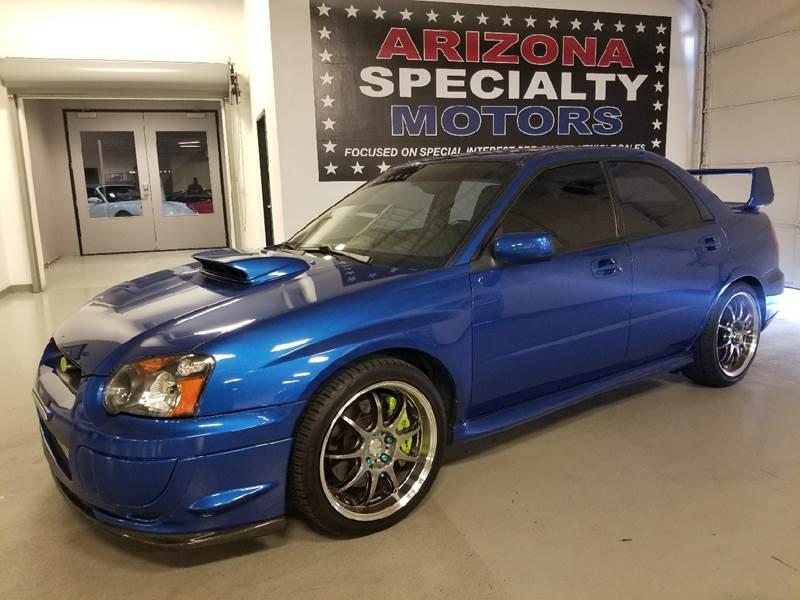 2005 Subaru Impreza for sale at Arizona Specialty Motors in Tempe AZ
