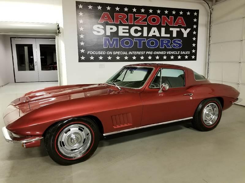 1967 Chevrolet Corvette for sale at Arizona Specialty Motors in Tempe AZ