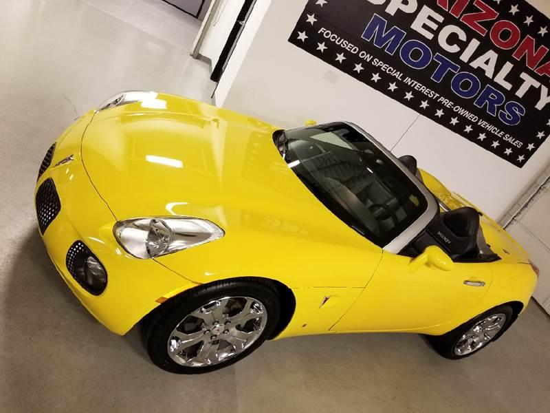 2007 Pontiac Solstice for sale at Arizona Specialty Motors in Tempe AZ