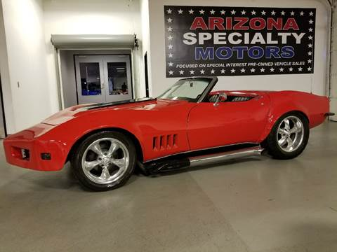 1969 Chevrolet Corvette for sale at Arizona Specialty Motors in Tempe AZ