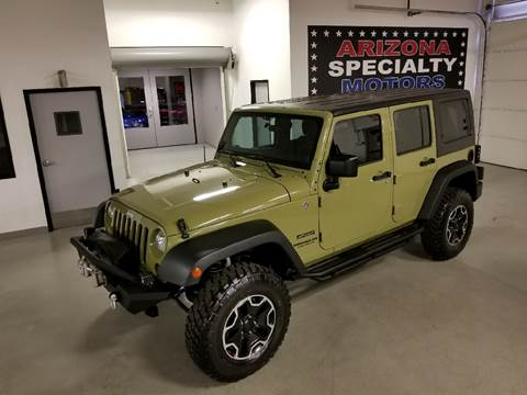 2013 Jeep Wrangler Unlimited for sale at Arizona Specialty Motors in Tempe AZ
