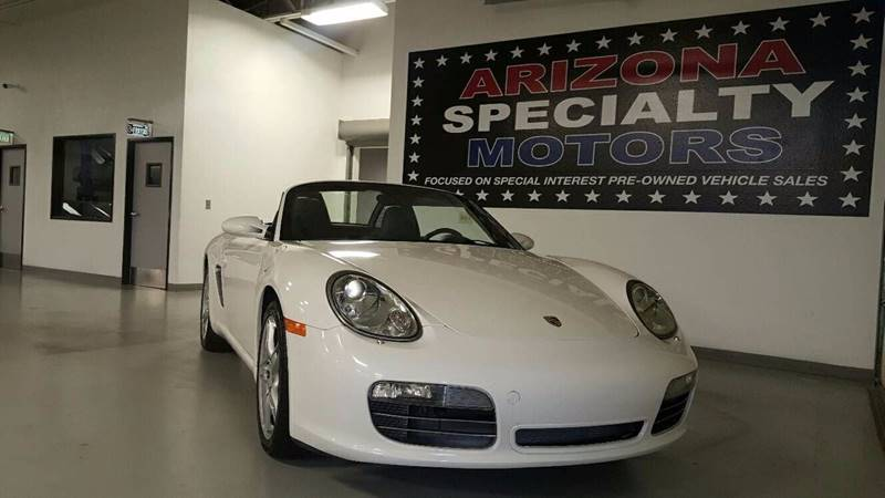 2005 Porsche Boxster for sale at Arizona Specialty Motors in Tempe AZ