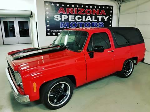 1984 Chevrolet Blazer for sale at Arizona Specialty Motors in Tempe AZ