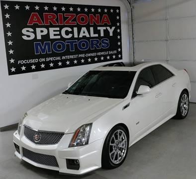 2013 Cadillac CTS-V for sale at Arizona Specialty Motors in Tempe AZ