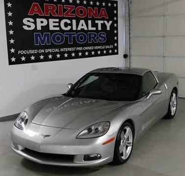 2008 Chevrolet Corvette for sale at Arizona Specialty Motors in Tempe AZ