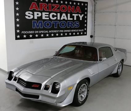 1981 Chevrolet Camaro for sale at Arizona Specialty Motors in Tempe AZ