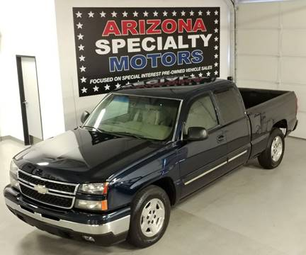 2006 Chevrolet Silverado 1500 for sale at Arizona Specialty Motors in Tempe AZ