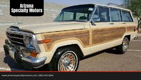 1989 Jeep Grand Wagoneer for sale in Tempe, AZ