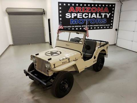 1946 Jeep Willys for sale in Tempe, AZ