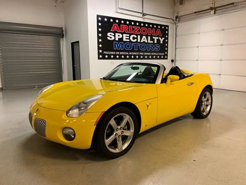 2007 Pontiac Solstice for sale in Tempe, AZ
