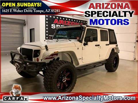 2018 Jeep Wrangler Unlimited for sale in Tempe, AZ