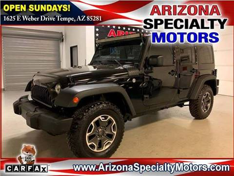 2017 Jeep Wrangler Unlimited for sale in Tempe, AZ