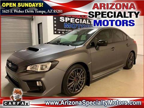 Used Subaru Wrx For Sale >> 2018 Subaru Wrx For Sale In Tempe Az