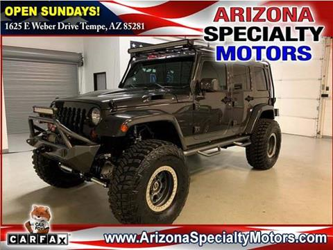 2011 Jeep Wrangler Unlimited for sale in Tempe, AZ