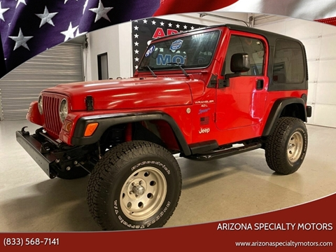 1997 Jeep Wrangler for sale in Tempe, AZ