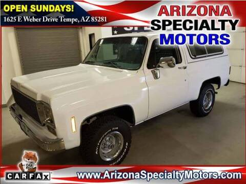 1978 Chevrolet Blazer for sale in Tempe, AZ